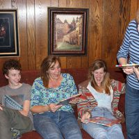 Rosemary surprises family with her book