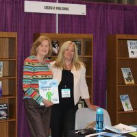 Rosemary and Sandra Powell, an Archway Publishing representative
