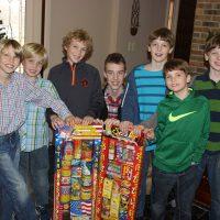 Author's grandchildren: Jonathan, ,Garrett, Joshua, Brady, Caleb, Justin, and Cody